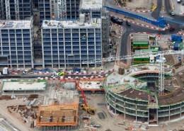 Olympic Village under construction