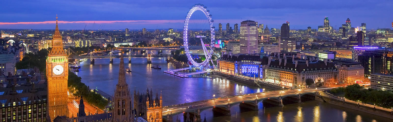 Panaramic View Of London
