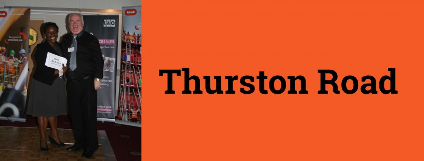 Thurston Road Header